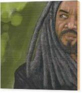 King Ezekiel Wood Print