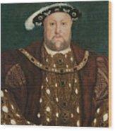 King Henry V I I I Wood Print
