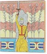 King Minos Wood Print