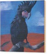King Of Cockatoos Wood Print