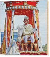 King Of Rex And Page - Mardi Gras New Orleans Wood Print