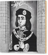 King Richard Wood Print