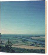 King River Wood Print