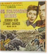 King Solomons Mines, Deborah Kerr Wood Print by Everett