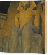 King Tut At The Luxor Hotel Wood Print