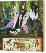 Kingdoms Of Magic Fairy Poster Wood Print