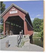 King's Bridge Wood Print