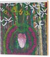 Kings Flowers Wood Print