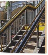 Kings Hwy Subway Station In Brooklyn Wood Print