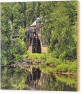 King's Landing Old Mill   Wood Print