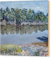 Kings River Wood Print