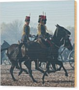 Kings Troop Rha Wood Print