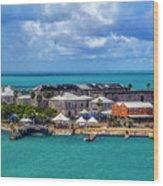 Kings Wharf, Bermuda Wood Print
