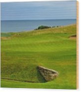 Kingsbarns Golf Links Hole #18 Wood Print