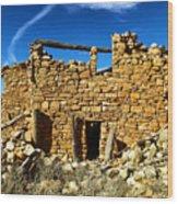 Kinishba Ruins Wood Print