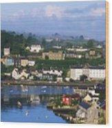 Kinsale, Co Cork, Ireland View Of Boats Wood Print
