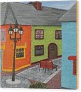 Kinsale Ireland Wood Print