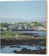 Kinvara Seaside Village Galway Ireland Wood Print