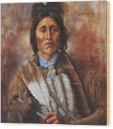 Kiowa Wood Print