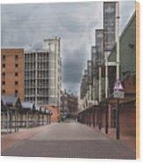 Kirkgate Market Wood Print