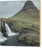 Kirkjufell, Iceland Wood Print