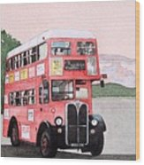 Kirkland Bus Wood Print
