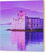 Kisimul Castle Wood Print
