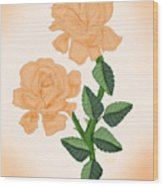 Kiss From A Rose Wood Print