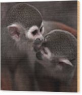 Kiss Me  Wood Print