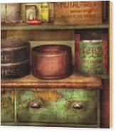 Kitchen - Food - The Cake Chest Wood Print