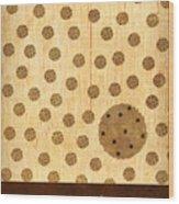 Kitchen Art - Cookie Wood Print by Linda Tieu