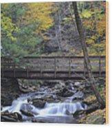 Kitchen Creek Bridge Wood Print