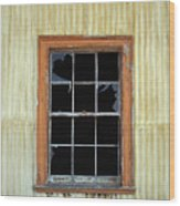 Kitchen Window Wood Print