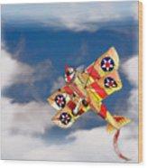Kite Dreams Wood Print