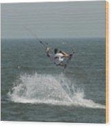 Kite Surfing 15 Wood Print
