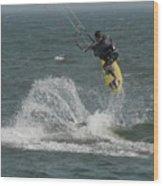 Kite Surfing 20 Wood Print