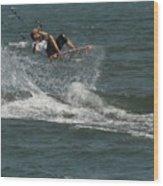 Kite Surfing 22 Wood Print