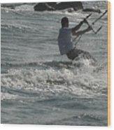 Kite Surfing 23 Wood Print