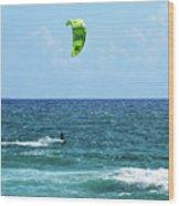 Kitesurfer Dude Wood Print