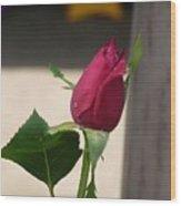 Kiti's Rose Wood Print
