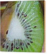 Kiwi Seed Display Wood Print