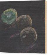 Kiwis Wood Print