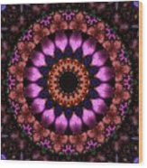 Klassy Kaleidoscope Wood Print