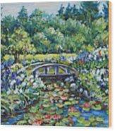 Klehm's Lily Pond II Wood Print