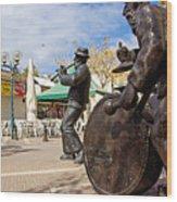 Kleizmer Band In Bronze Wood Print