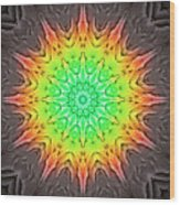 Klidanature Sun  Wood Print
