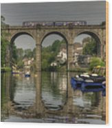 Knaresborough Viaduct Wood Print