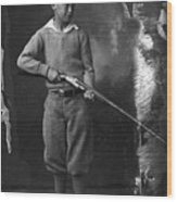 Knickerbockers And Shotgun Wood Print
