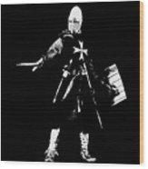 Knight Hospitaller - 02 Wood Print