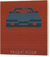 Knight Rider My Favorite Tv Shows Series 020 Wood Print